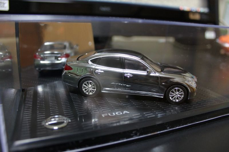 NSSAN NISSAN MODEL CAR COLLECTION FUGA Y51