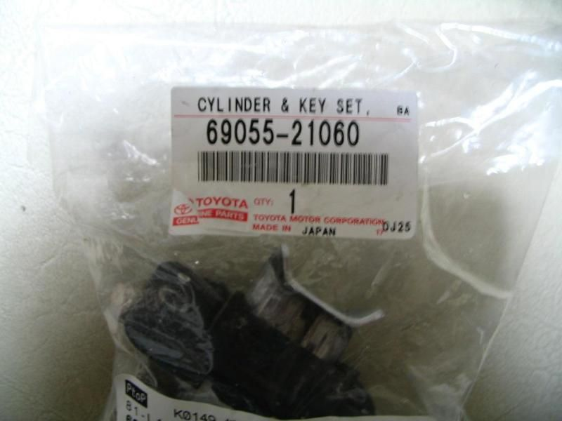 TOYOTA CYLINDER&KEY SET,
