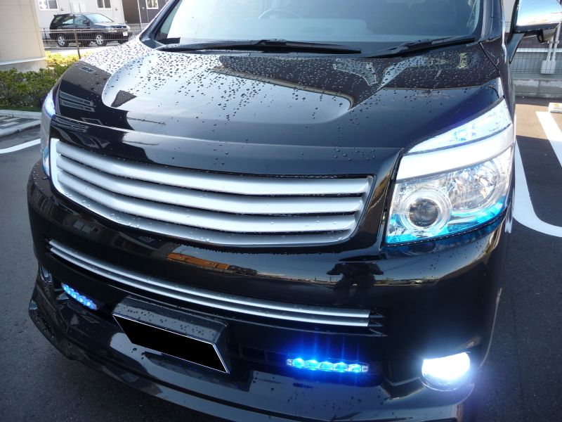 ROJAM  Front Grille(VOXY ZRR70W)