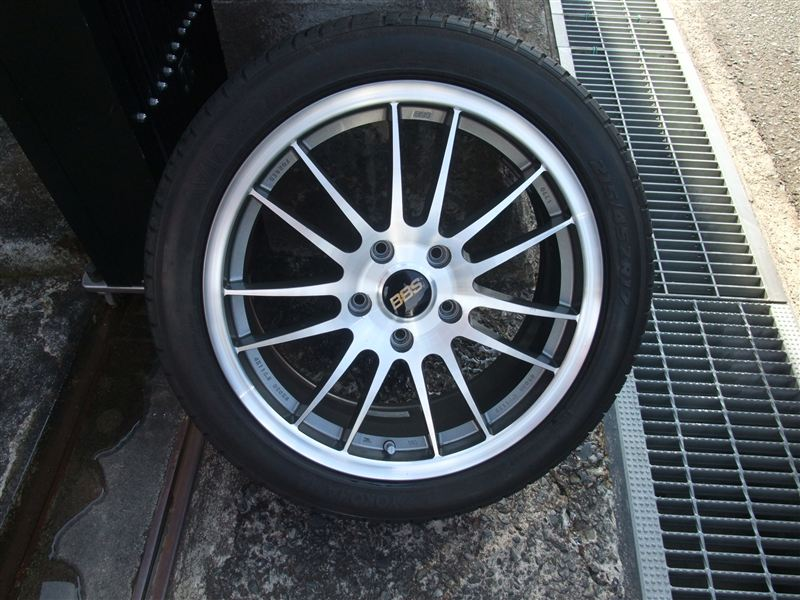 BBS Forged Alloy Wheel