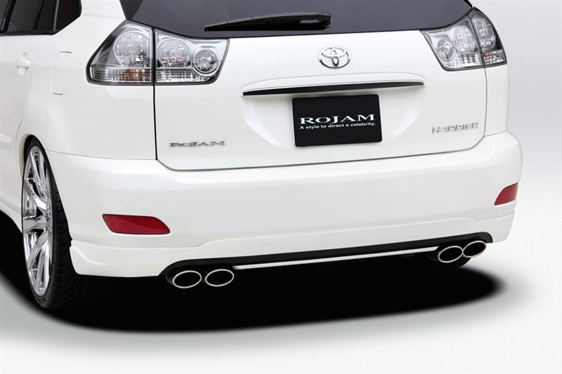 ROJAM  Rear Lip Spoiler(HARRIER MCU3・ACU3)