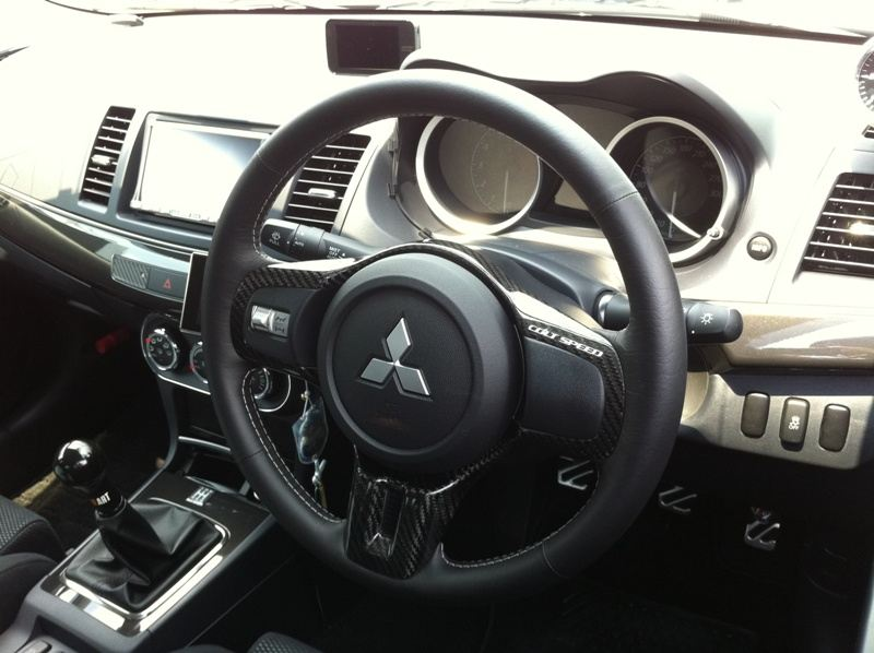 COLTSPEED CARBON STEERING COVER