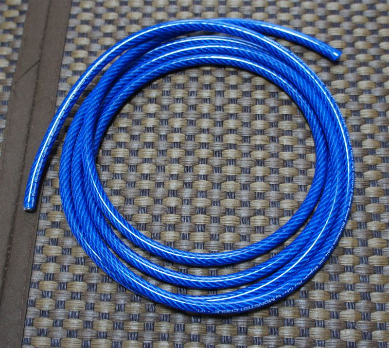 MONSTER CABLE MPCP3008BL-25 8ゲージパワーケーブル 2m分