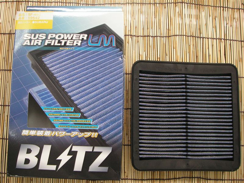 BLITZ BLITZ SUS POWER AIR FILTER LM