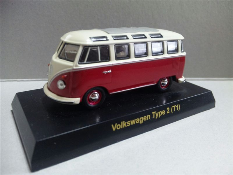 1/64 Volkswagen SERIES Minicar Collection Type 2 T1 (RED)