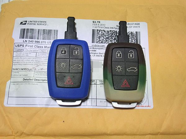 High-End Motorsports Silicone Rubber Remote Key Cover