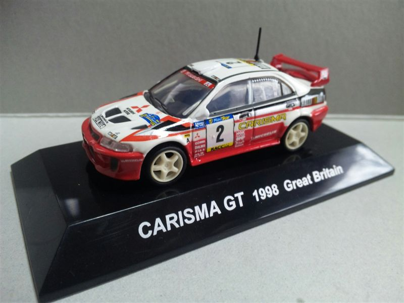1/64 RALLY CAR COLLECTION SS.2 MITSUBISHI CARISMA GT 1998 GreatBritain