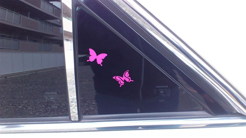 Butterfly System 蝶ステッカー