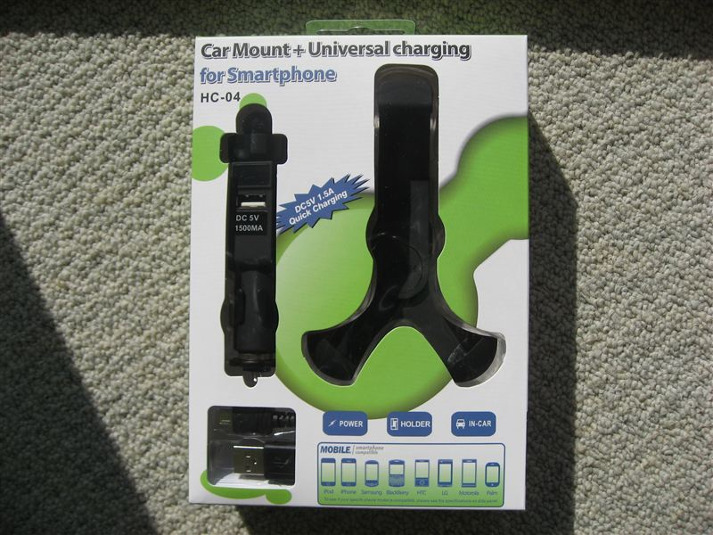 SANWA SUPPLY  - Car Mount+Universal charging for Smartphone -