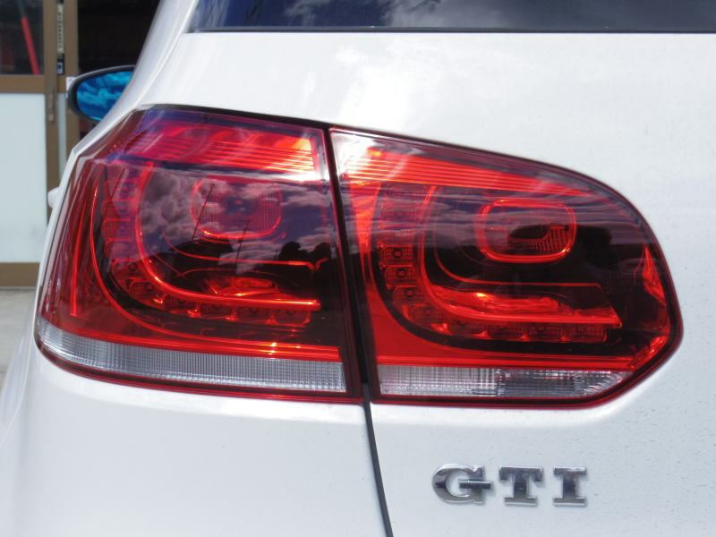 VW Golf MK6 R LED red tail lights incl. adapters