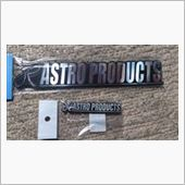 ASTRO PRODUCTS エンブレム