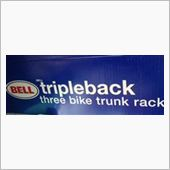 BELL Tripleback three bike trunk rack