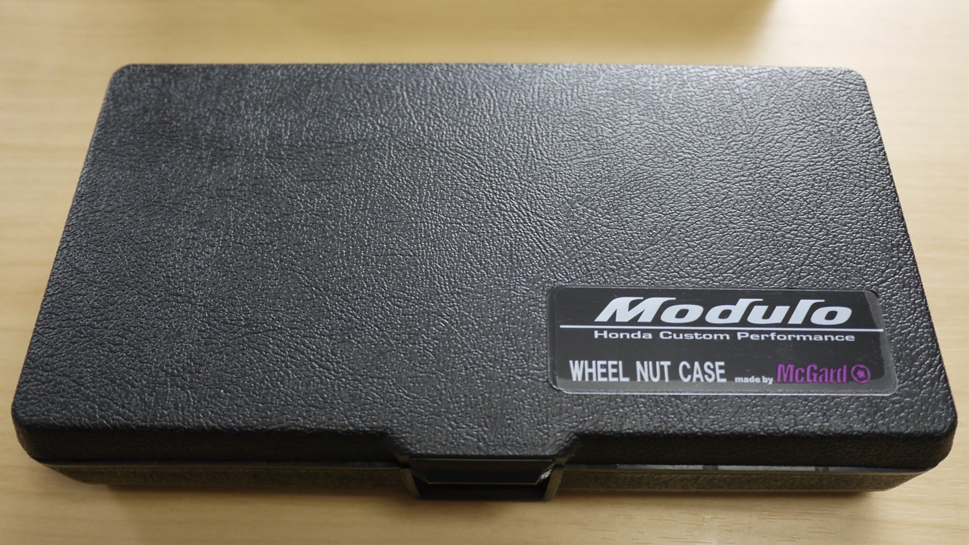 Modulo / Honda Access WHEEL NUT CASE