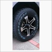 Weds WEDS MUDVANCE 01 & ブリヂストン DUELER A/T694 225/70R16