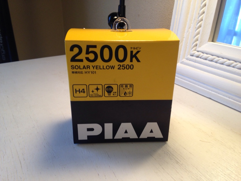 PIAA SOLAR YELLOW 2500 H4 / HY101