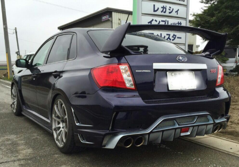 VARIS IMPREZA WRX STI GVB ~Ultimate~REAR BUMPER for GV#