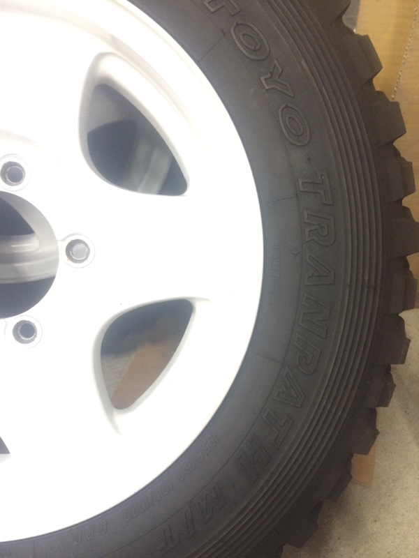 TOYO TIRES TRANPATH M/T 195R16