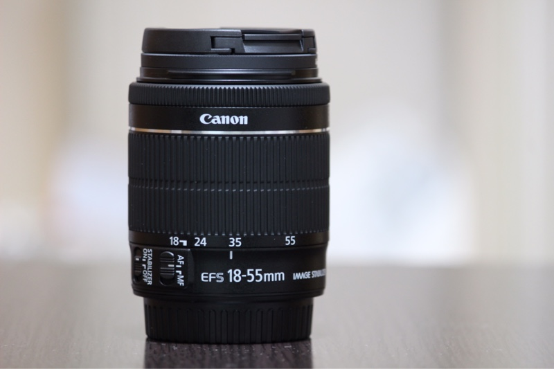 Canon EF-S18-55mm F3.5-5.6 IS STM