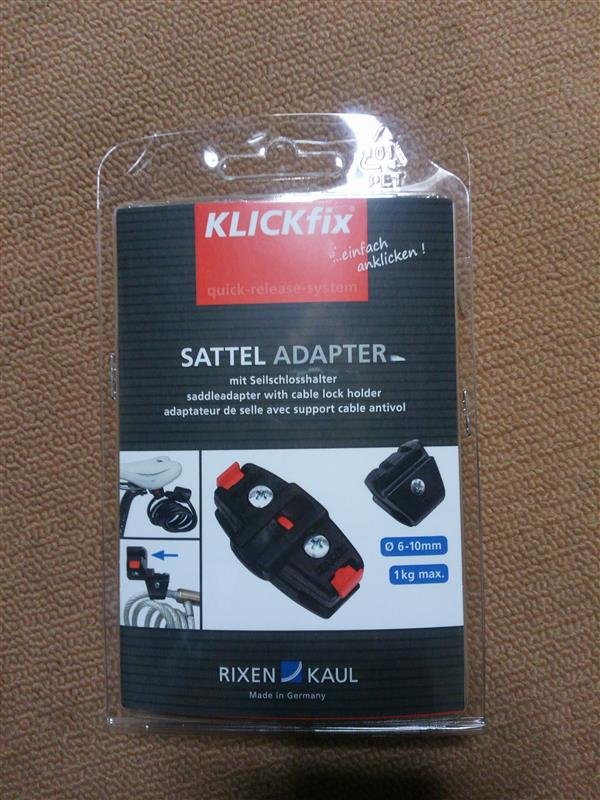 RIXEN & KAUL  Saddle Adapter for Cable Locks