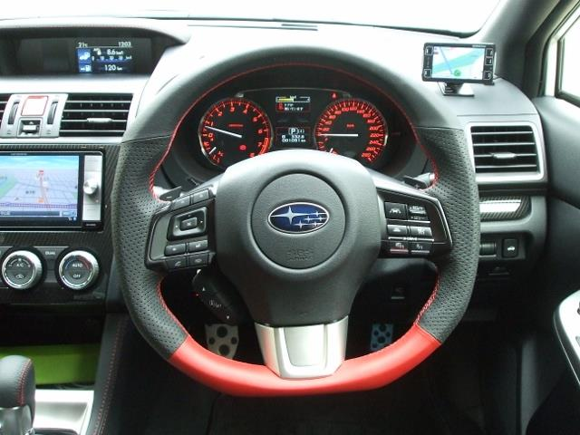 DAMD STEERING WHEEL For SUBARU LEVORG VMG VM4 A ~ 14 6 ~ SS360 RX RED FORMULA