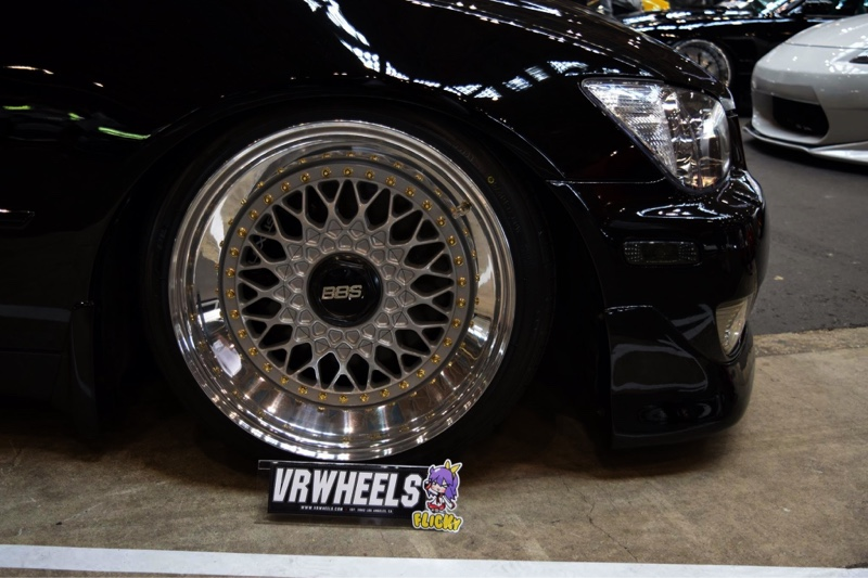 VR wheels BBS RS 16→17 LIP BBS RS frontmount