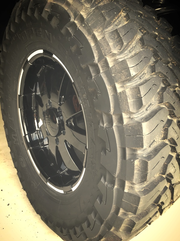 TOYO TIRES OPEN COUNTRY 35×12.50R18