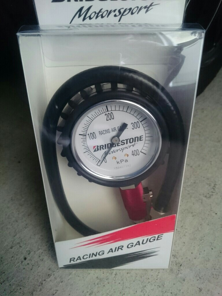 BRIDGESTONE RACING AIR GAUGE / レーシングゲージ