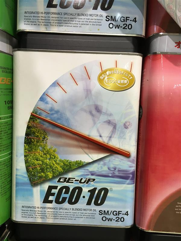 BE-UP BE-UP ECO-10 0W-20