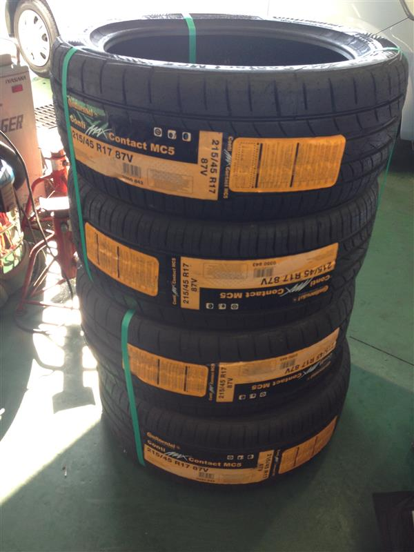Continental ContiMaxContact MC5 215/45R17