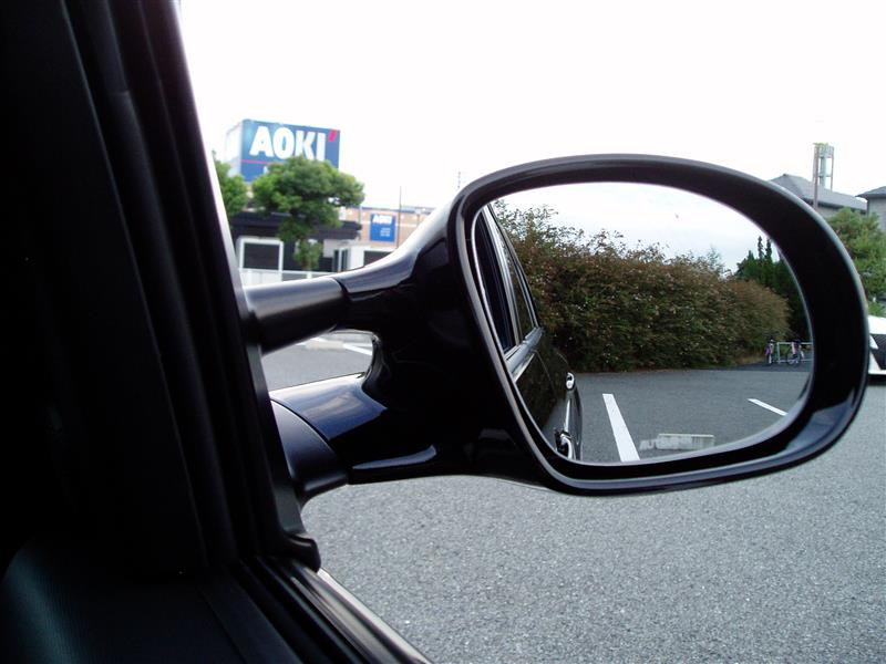 欧州 mazda 純正 Option Sporty Mirror