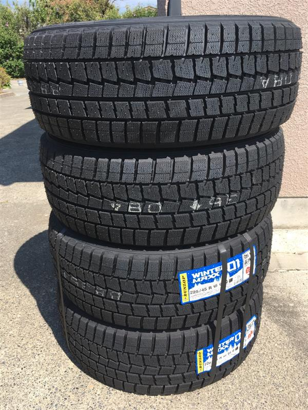 DUNLOP WINTER MAXX WINTER MAXX 225/45R18
