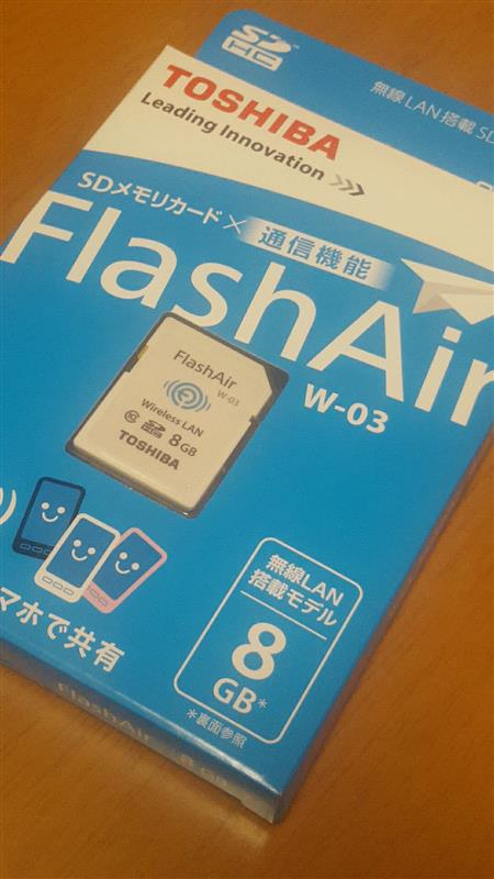 東芝 Flash Air W-03