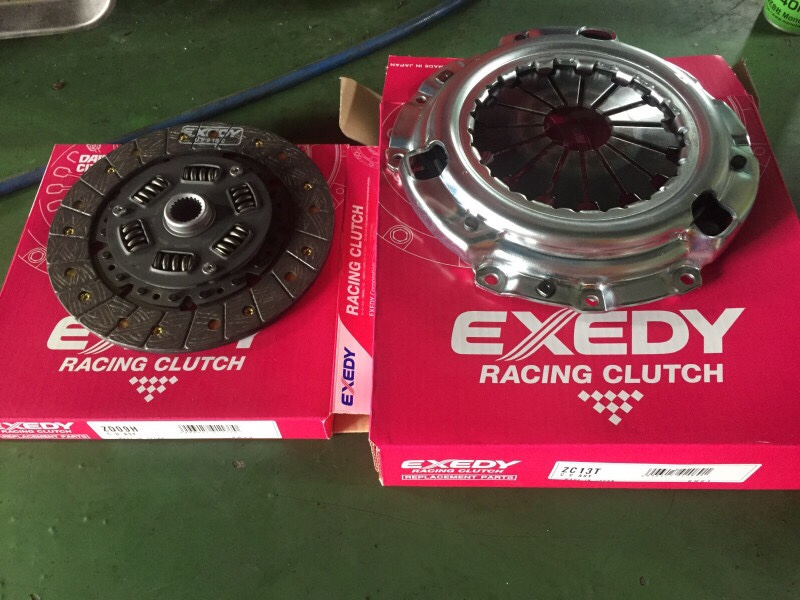 EXEDY Single Sports Series ULTRA FIBERクラッチセット