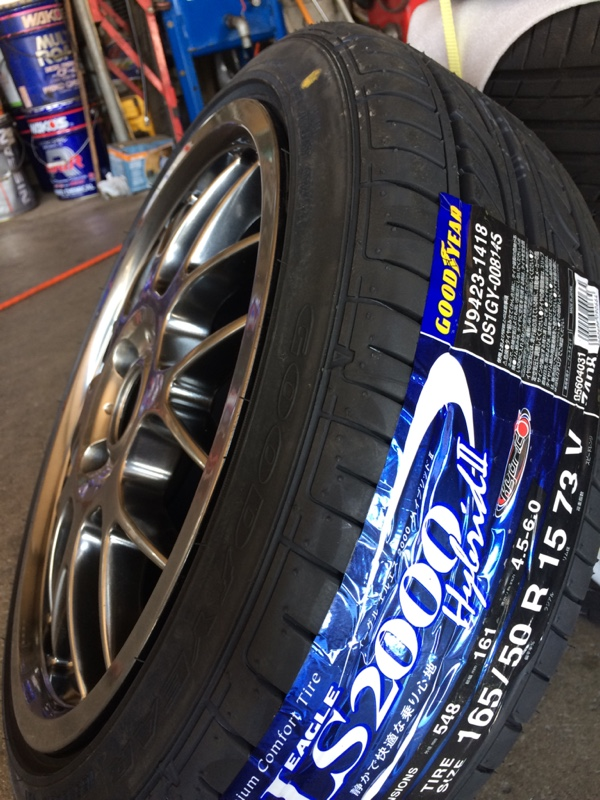 GOODYEAR EAGLE LS2000 165/50R15