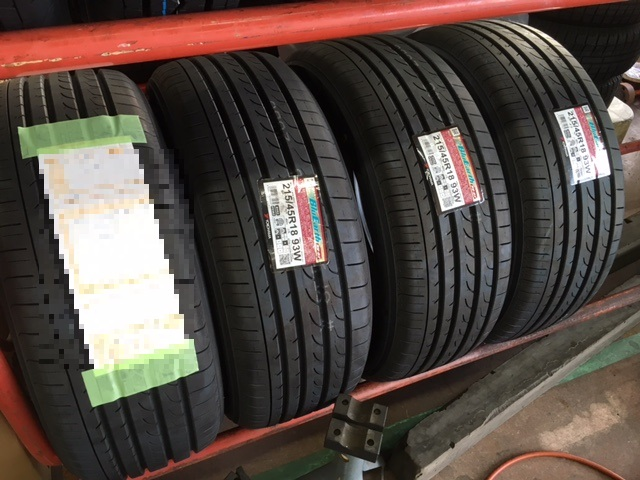 YOKOHAMA BluEarth BluEarth RV-02 215/45R18