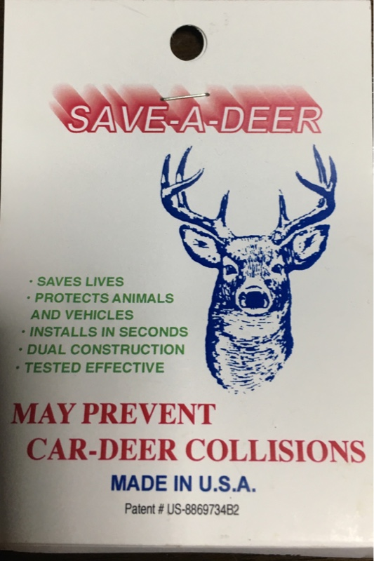 Living Products Save a Deer