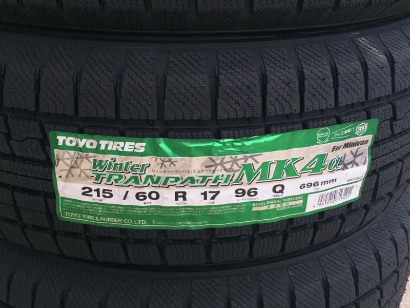 TOYO TIRES WINTER TRANPATH MK4α 215/60R17