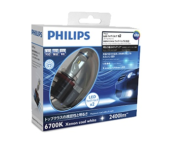 PHILIPS X-treme Ultinon LED Fog 6200K