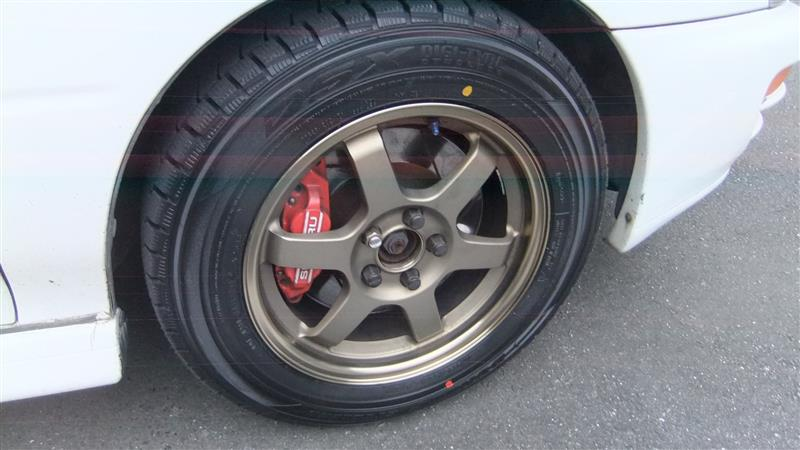 RAYS VolkRacing TE37 +46 15インチ 6.5J