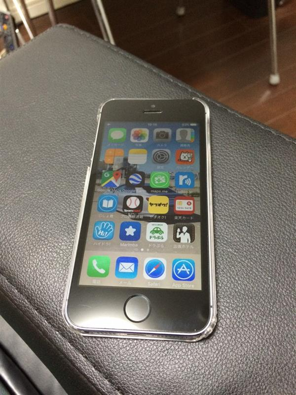SoftBank iPhone5s 16GB スペースグレー