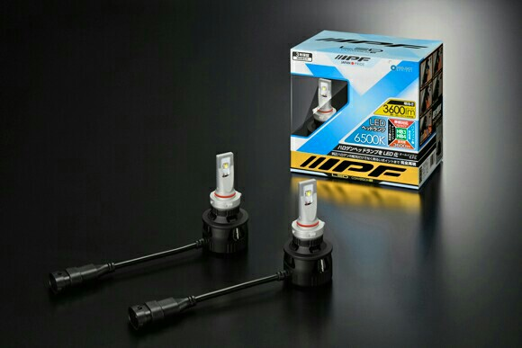 IPF LED HEAD LAMP CONVERSION KIT H4 6500K 341HLB