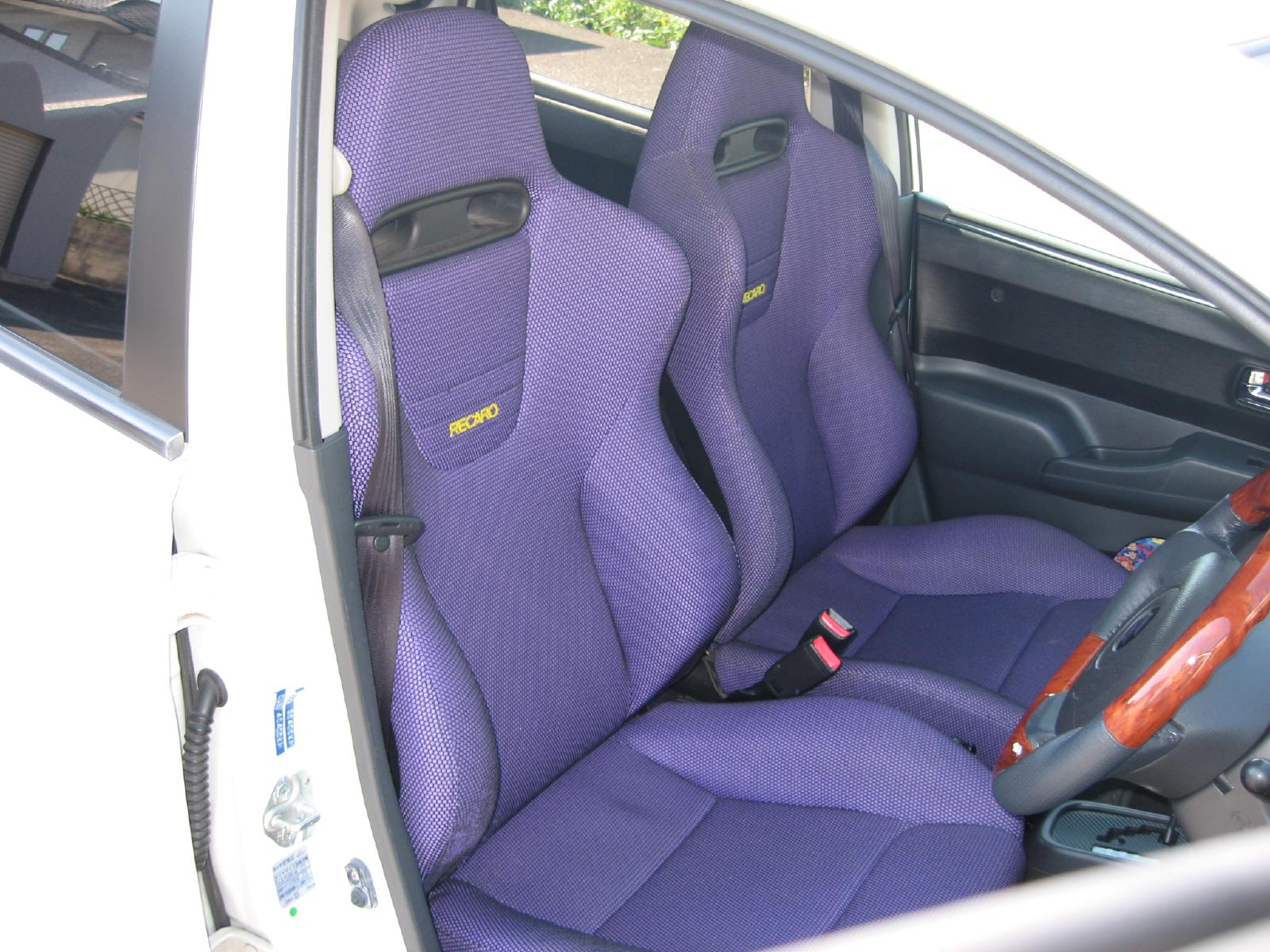RECARO SP-J LIMITED MODEL Flanker