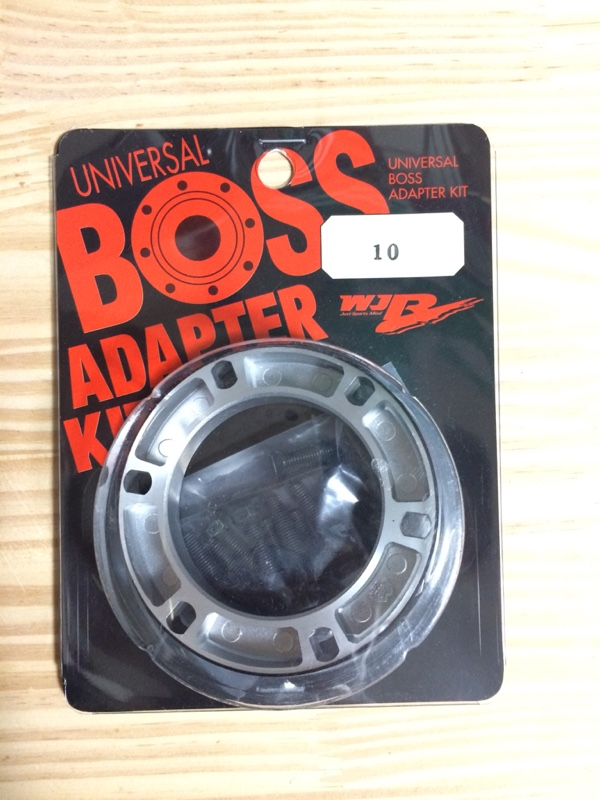 WJR UNIVERSAL BOSS ADAPTER KIT 10mm