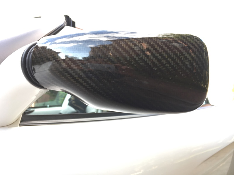 Elise Parts Carbon Fibre Mirror Covers