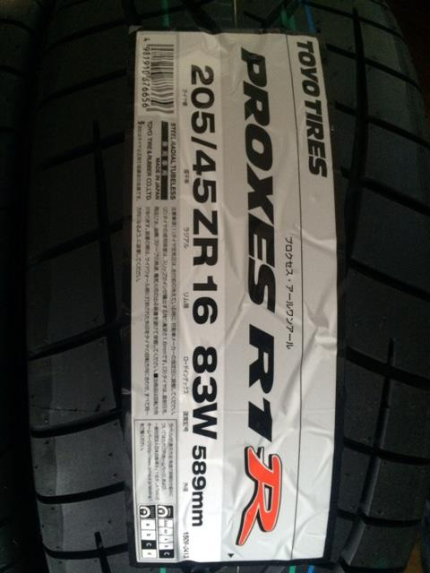 TOYO TIRES PROXES PROXES R1R 205/45ZR16