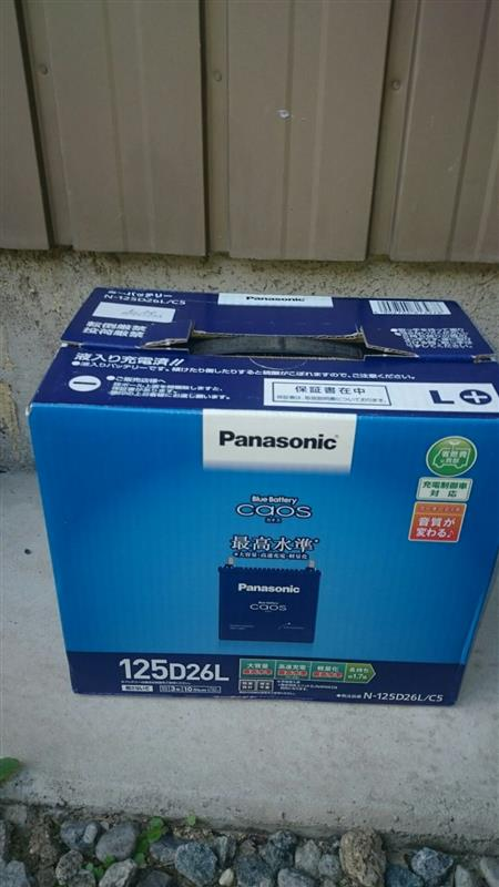 Panasonic Blue Battery caos N-125D26L/S5