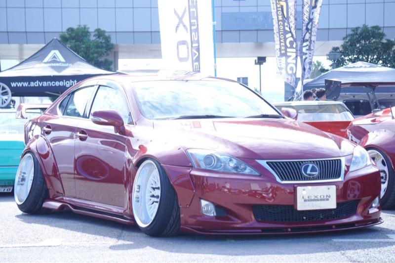 "LEXON / QUESTPOWER LEXUS IS350 ""LEXON exclusive feat. Rocket Bunny #2"""