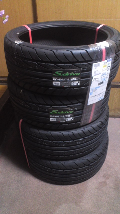 YOKOHAMA S.drive AS01 195/40R17 81W(RFD)