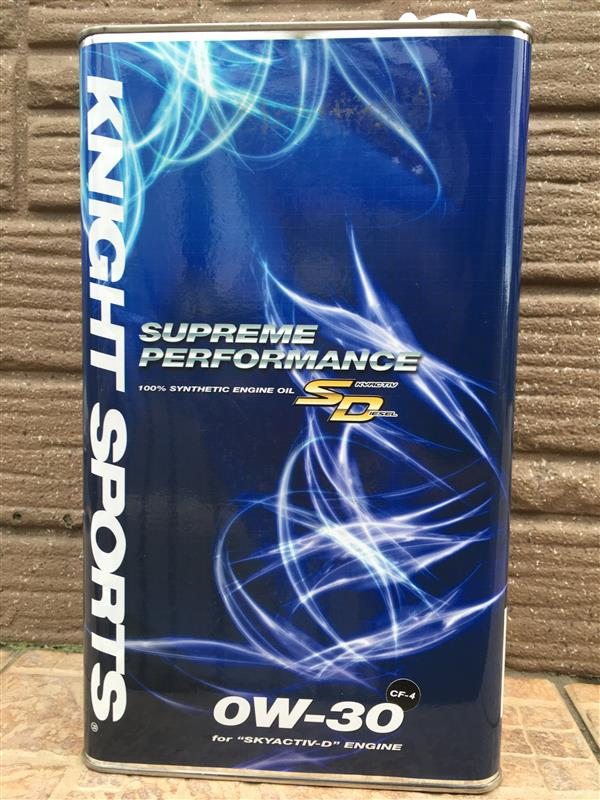KNIGHT SPORTS ENGINE OIL SUPREME PERFORMANCE SD 0w-30 5.1L