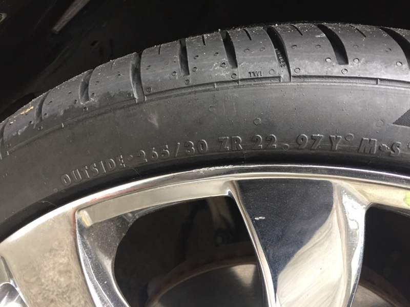 Continental Extreme Contact DWS06  265/30R22